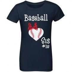 Baseball Sis Tee