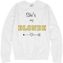 She's my Blonde Best Friends Sweater