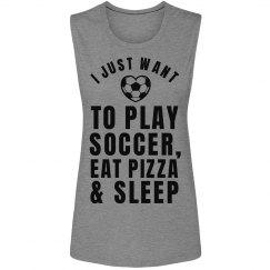Soccer Girl Problems Tank