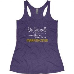 Be a Marathoner