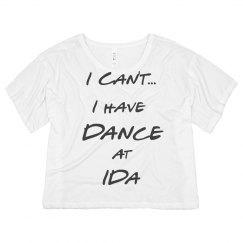 IDA I Can't Tee