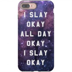 Slay All Day Custom iPhone Case