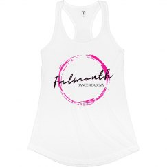 Ladies FDA Tank - White