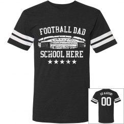 Vintage Dad Football Tee