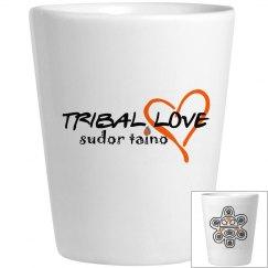 Tribal Love Shot glass