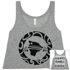 Work Hard Stay Humble CROP TOP