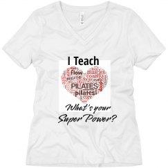 I teach Pilates