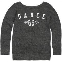 Dance Sweatshirt Bow