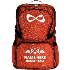 Custom Name Dance Team Backpack