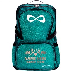 Custom Name Dance Team Backpack