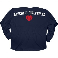 Baseball Jersey Girlfriend