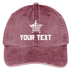 Custom Text 4th of July Hats