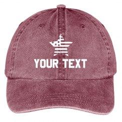 Custom Text 4th of July Hats