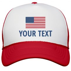 Custom Text Personalized July 4th
