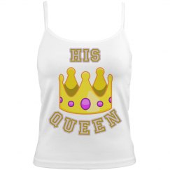 His Queen Cami Nighty Emoji Tee