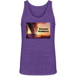 Gemini Hobbies Unisex Purple Tank Top