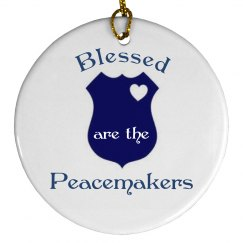 Blessed are the Peace....