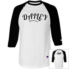 DM White Babseball T