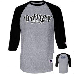 DM Blu/Blue Baseball T