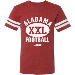 Alabama XXL Football shirt