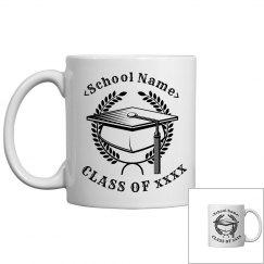 Personalized Graduation Class Mug