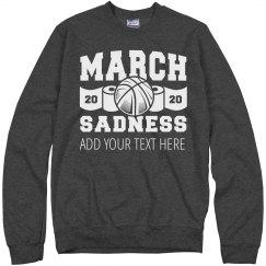 March Sadness 2020 Custom Team Name