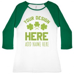 Custom St. Patricks Day Designs Add Name