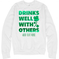Custom Drinks Well St. Patrick's Day