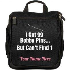 99 Bobby Pins Travel Hair Beauty Bag
