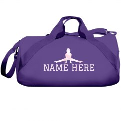 Add Your Name Gym Duffle