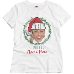 Custom Photo Virtual Holiday Race Tee