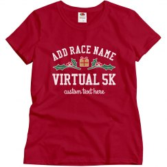 Custom Race Virtual Holiday Top