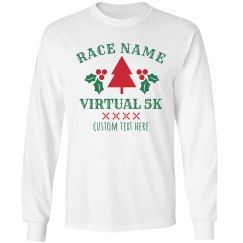 Holiday Tree Virtual Race Tee