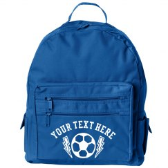 Custom Football School Backpack