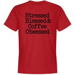 Stressed, blessed... soft tee 1