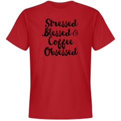 Stressed, blessed...soft tee 2