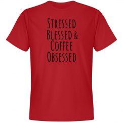 Stressed, blessed...soft tee 3