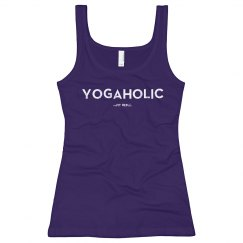 Yogaholic Fitted Tank