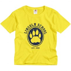 KIDS: Lincoln School Hollow Paw (more colors)