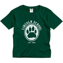 KIDS: Lincoln School Hollow Paw White (more colors)