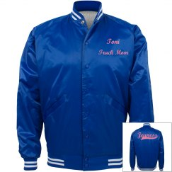 Jeuness Blue Bomber Jacket (Track Mom)
