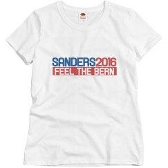 Bernie Sander 2016 feel t