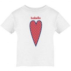 Custom Polka Dot Heart