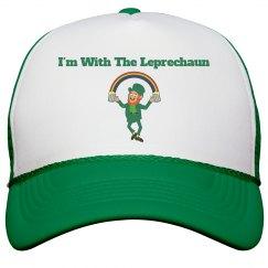 i'm with the leprechaun