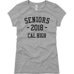 Class Of 2018 Seniors Tee