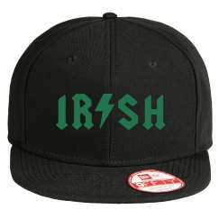 Irish St. Patrick's Day Flat Bill Hat