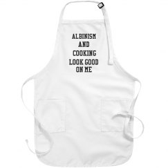 Albinism And cooking- Apron