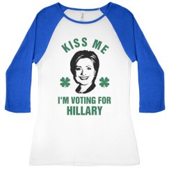 Hillary 2016 St Patricks