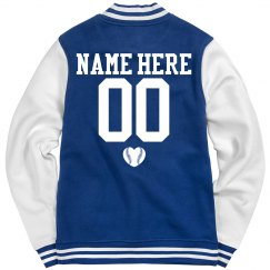 Baseball Girlfriend Trendy Jacket Custom Name Number