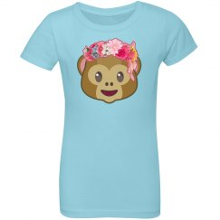Monkey Floral Crown Emoji